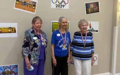 Residents Get Moving to Celebrate Active Aging Week